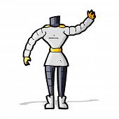 cartoon female robot body  (mix and match cartoons or add own photos)
