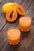 Постер, плакат: Papaya Juice