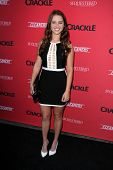 LOS ANGELES - AUG 14:  Lindsay Bushman at the Crackle Presents the Premieres of