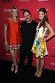 LOS ANGELES - AUG 14:  Missi Pyle, David Arquette, Meredith Pyle at the Crackle Presents the Premieres of