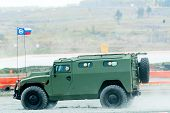 VIPS-233115 Tiger-M armored vehicle. Russia