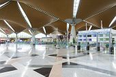 KUALA LUMPUR, MALAYSIA - MAY 06: airport interior on MAY 06, 2014. Kuala Lumpur International Airport (KLIA) is Malaysia's main international airport and one of the major airports of South East Asia