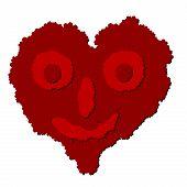 Vector Heart Looks Like Boogerman