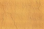 Plaster Or Cement Texture Yellow Color