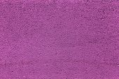 Plaster Or Cement Texture Violet Color