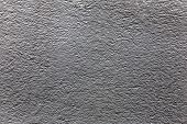 Plaster Or Cement Texture Dark Gray Color
