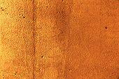 Plaster Or Cement Texture Orange Color