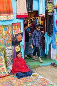 Handmade Painted Clothes, Indian Handicrafts Fair At Kolkata