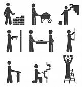 Construction Icons, Renovation, Plumbing