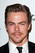 LOS ANGELES - JAN 11:  Derek Hough at the The Weinstein Company / Netflix Golden Globes After Party at a Beverly Hilton Adjacent on January 11, 2015 in Beverly Hills, CA