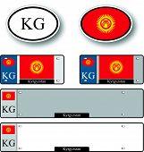 Kyrgyzstan Auto Set