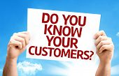 Do You Know Your Customers? card with a beautiful day