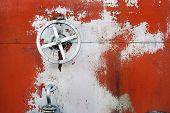 old big hand wheel