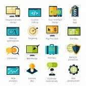 Web Development Icons Set