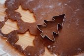 stock photo of christmas meal  - Gingerbread - JPG