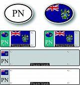 Pitcairn Islands Auto Set