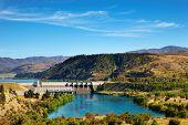 Aviemore hydro-elektrische Dam, Nieuw-Zeeland