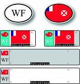 Wallis And Futuna Auto Set