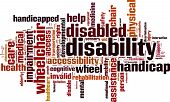 Disability Word Cloud