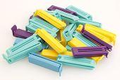 Plastic bag clips