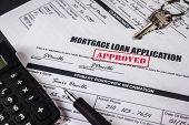 Mortgage Loan Application Approved 007