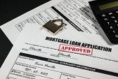 Mortgage Loan Application Approved 014