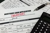 Mortgage Loan Application Rejected 004
