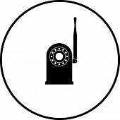 network security camera symbol