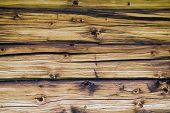 Fence Weathered Wood Background poster