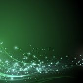 foto of shimmer  - Green sparkle shimmering abstract background  - JPG