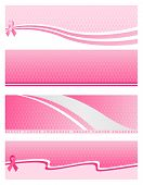 Pink Ribbon Web Banner