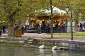 Carousel In Annecy, France