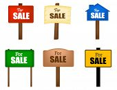 For Sale Notice Board