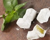Lukum (turkish Delight) With Mint