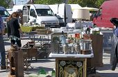 pic of hunter  - CHARTRES, FRANCE - May 10: The 19th meeting of bargain hunters Antiques - Bargain May 10, 2015 - JPG