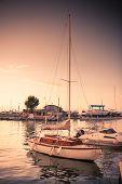 image of marina  - Yachts in Marina Bay in Rimini - JPG