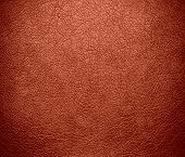 foto of copper  - Copper red color leather texture background for design - JPG