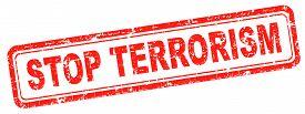 image of terrorist  - no terrorism war on terror stop terrorist attacks - JPG