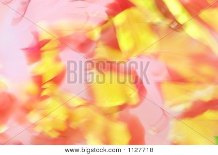 Picture or Photo of Abstract blur background of yellow and pink