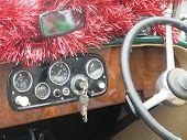 Christmas  Vintage Dashboard