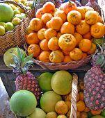 Bolivian Fruit Stall