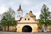 Harman Fortress In Brasov, Romania