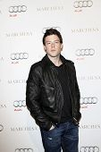 WEST HOLLYWOOD - FEB 28: Cory Monteith at the Audi + actress Camilla Belle Kick Off Oscar Week party at Cecconi's in West Hollywood, California on February 28, 2010