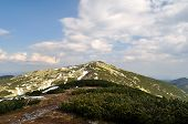 Gorgany. Mount Igrovets. Carpathians