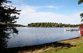 Autumn Lake Scenic