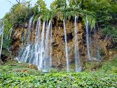 Waterfalls In Plitvice National Park - Croatia poster