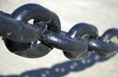 Chain In Close Up