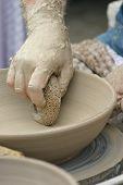 Turning Pottery