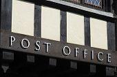 Post Office Sign. Arundel.Sussex.UK