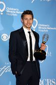 LAS VEGAS - JUNE 19:  Scott Clifton in the Press Room of the  38th Daytime Emmy Awards at Hilton Hot
